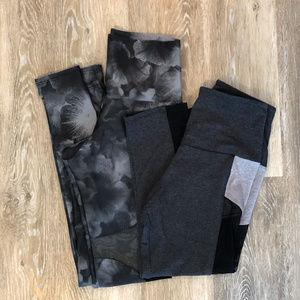 Bundle of ONZIE Workout Pants- s/m